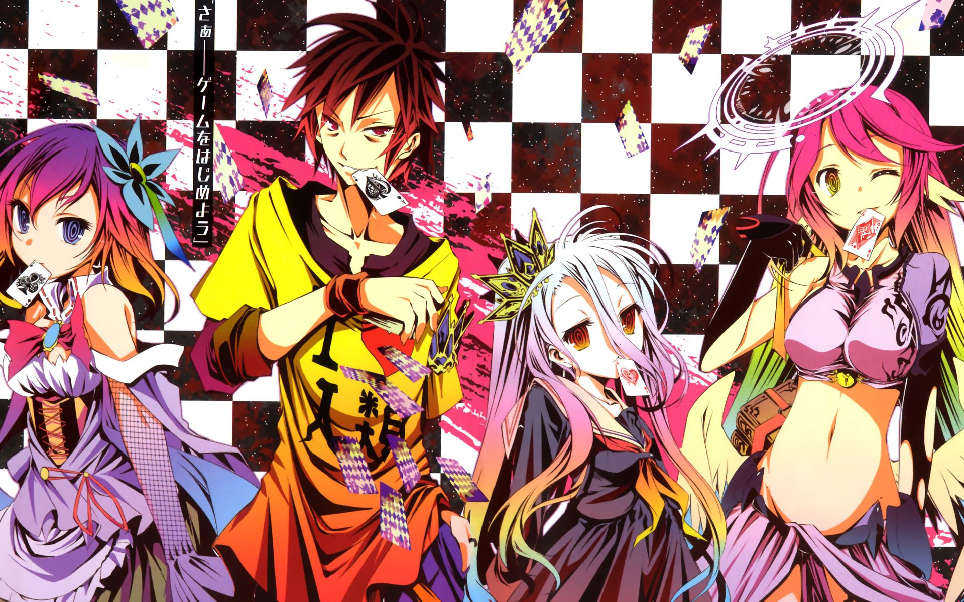 No Game No Life Wallpaper Nogame No Life Anime Games