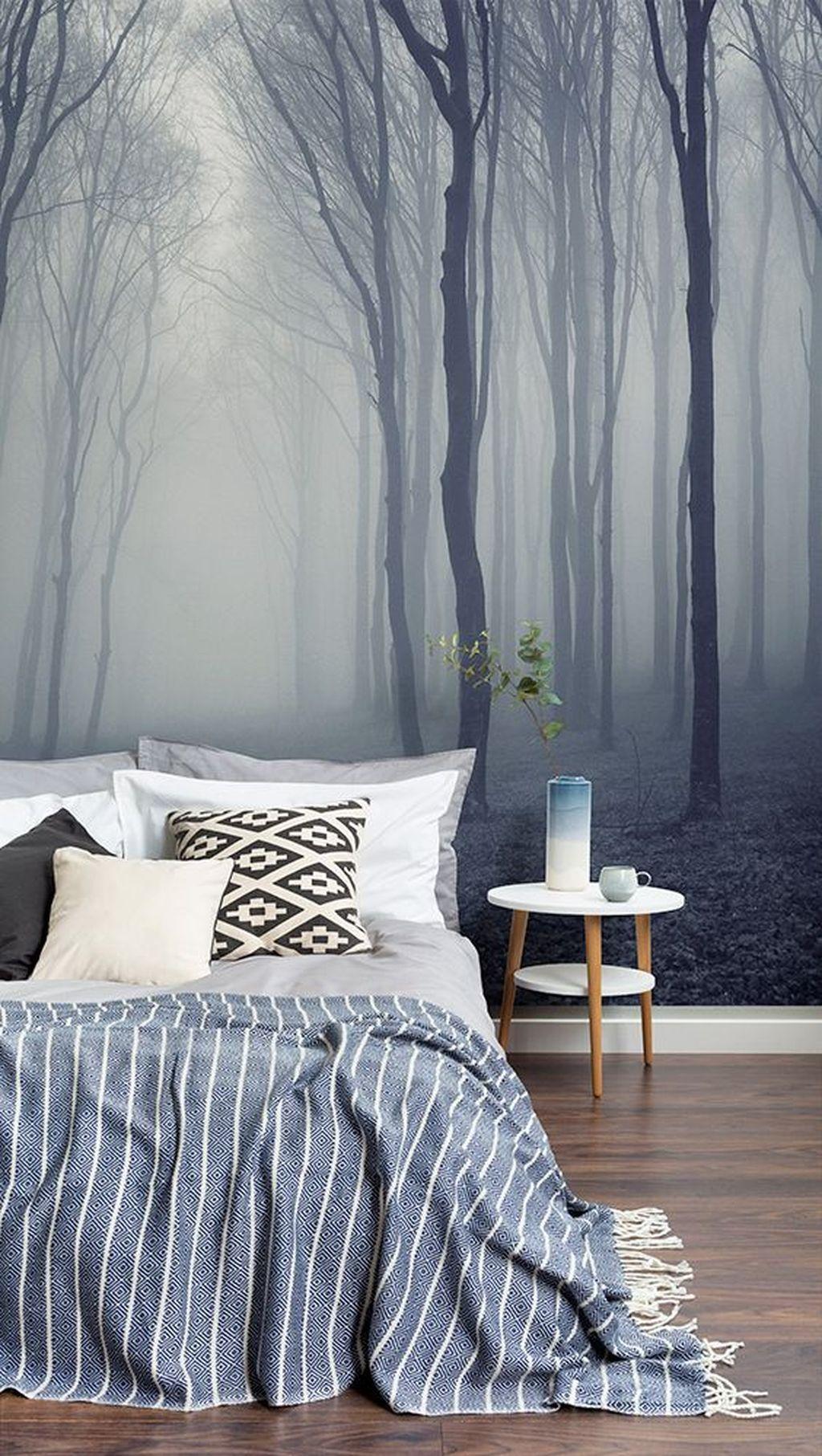 Best 37 Relaxing Bedroom Wallpaper Decoration Ideas For 640 x 480