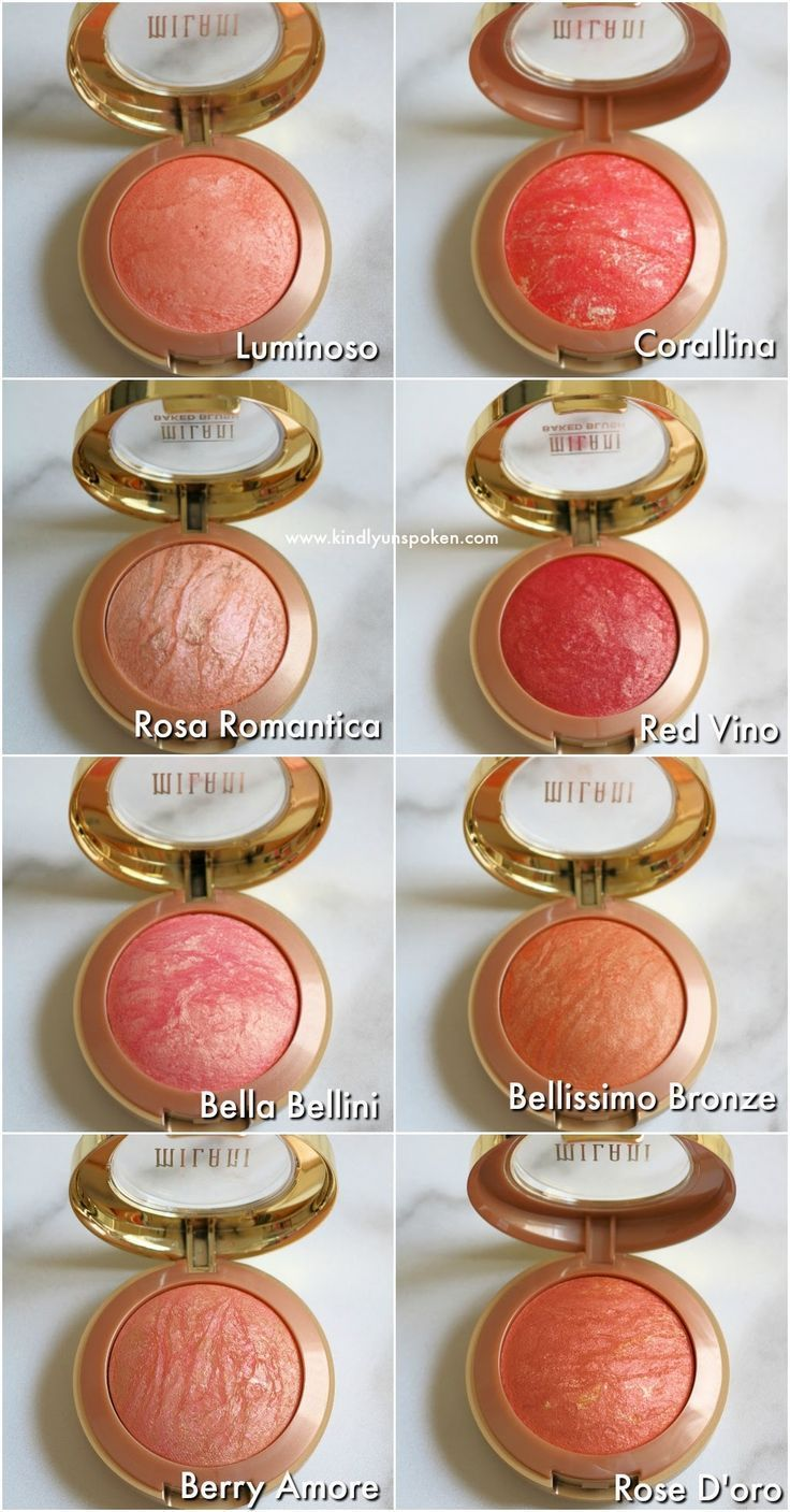 Milani Baked Blushes Swatches {What Shades to Buy}