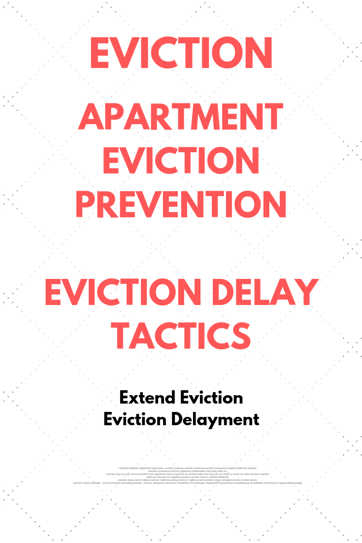 How Long Do You Have To Get Out After Eviction
