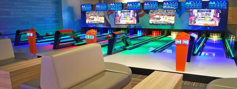 Ocoee Mini Bowling Mega Arcade Restaurant Sports Bar Parties And More Near Orlando Sports Bar Ocoee Bowling Center