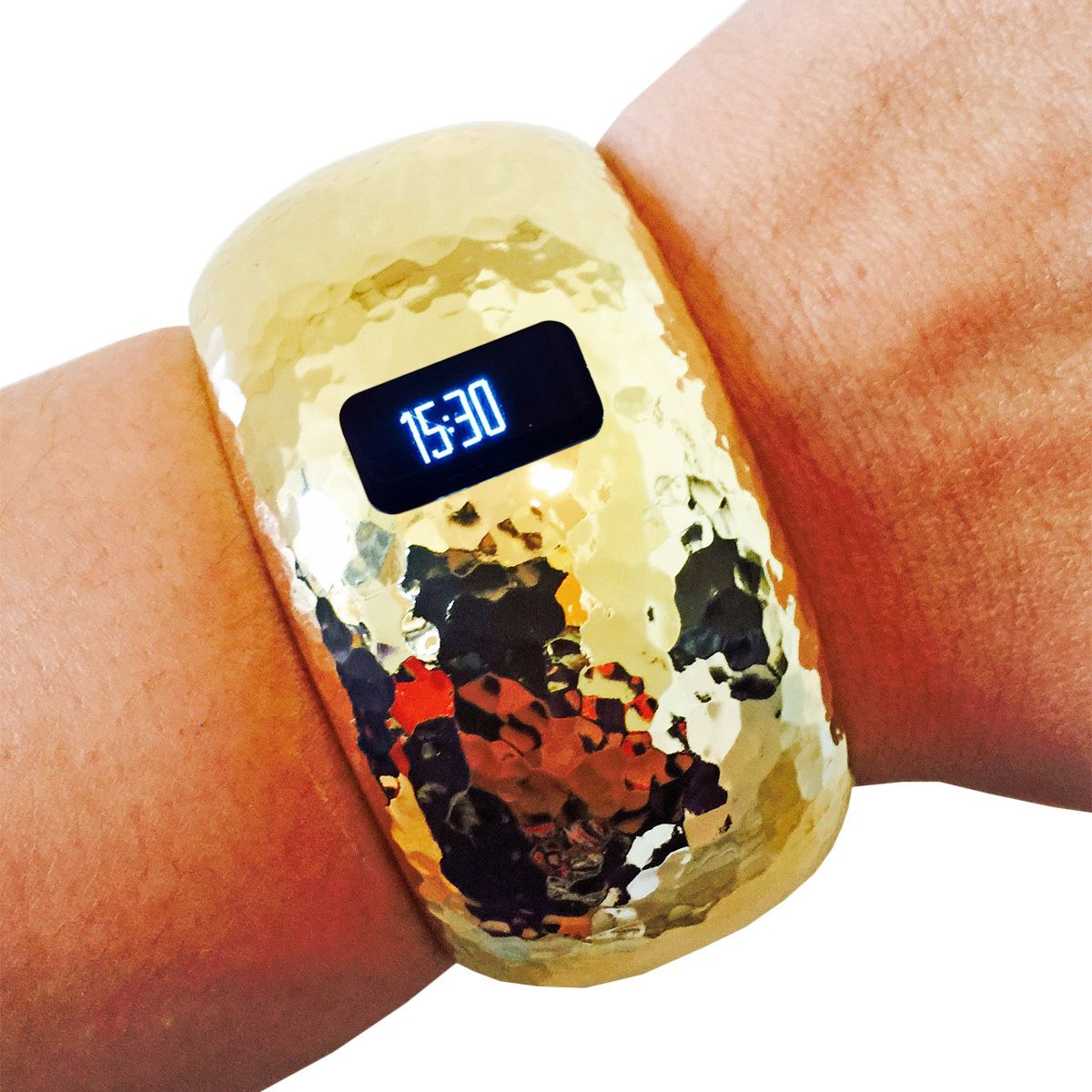 The brianna insight in gold fitbit bracelet fitbit charge and