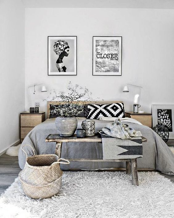 Scandinavian Bedroomdesign Inspiration: Sunday Situation # Inspiration #interiordesign