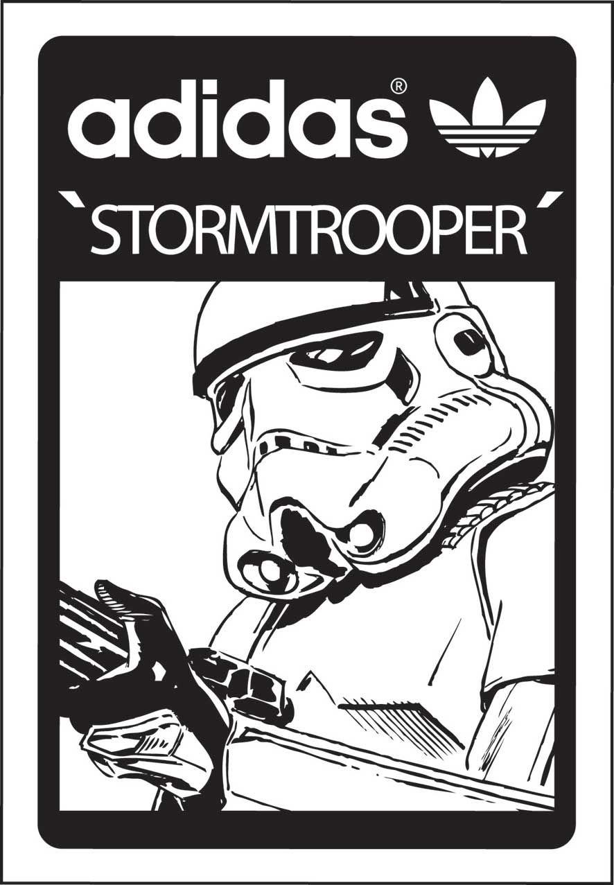 Perforar fenómeno moneda  adidas_stormtrooper.jpg (886×1277) | Adidas star wars, Star wars shoes,  Adidas art