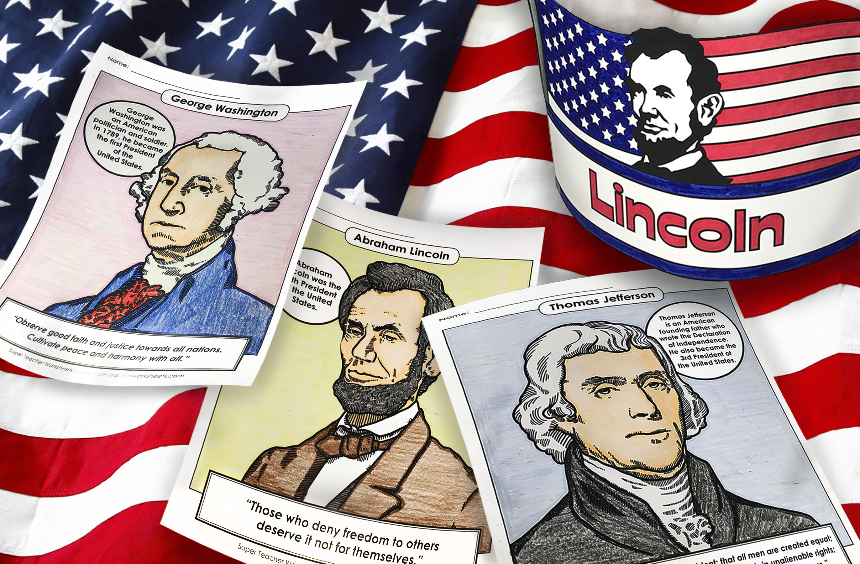 Visit The Superteacherworksheets Presidentsday