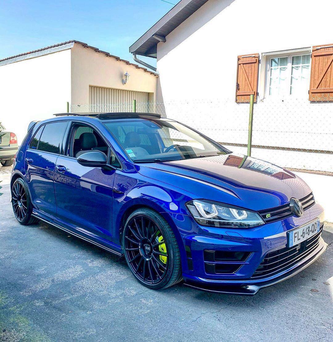 Lapiz Blue Golf R Golf Car Golf R Mk7 Volkswagen Golf R