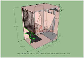 Box Cbs Fusion 15 Inch Speaker Pengeras Suara Desain