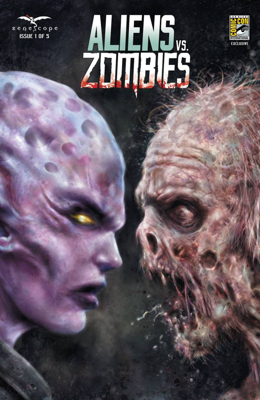 Aliens vs. Zombies #1 (Issue)