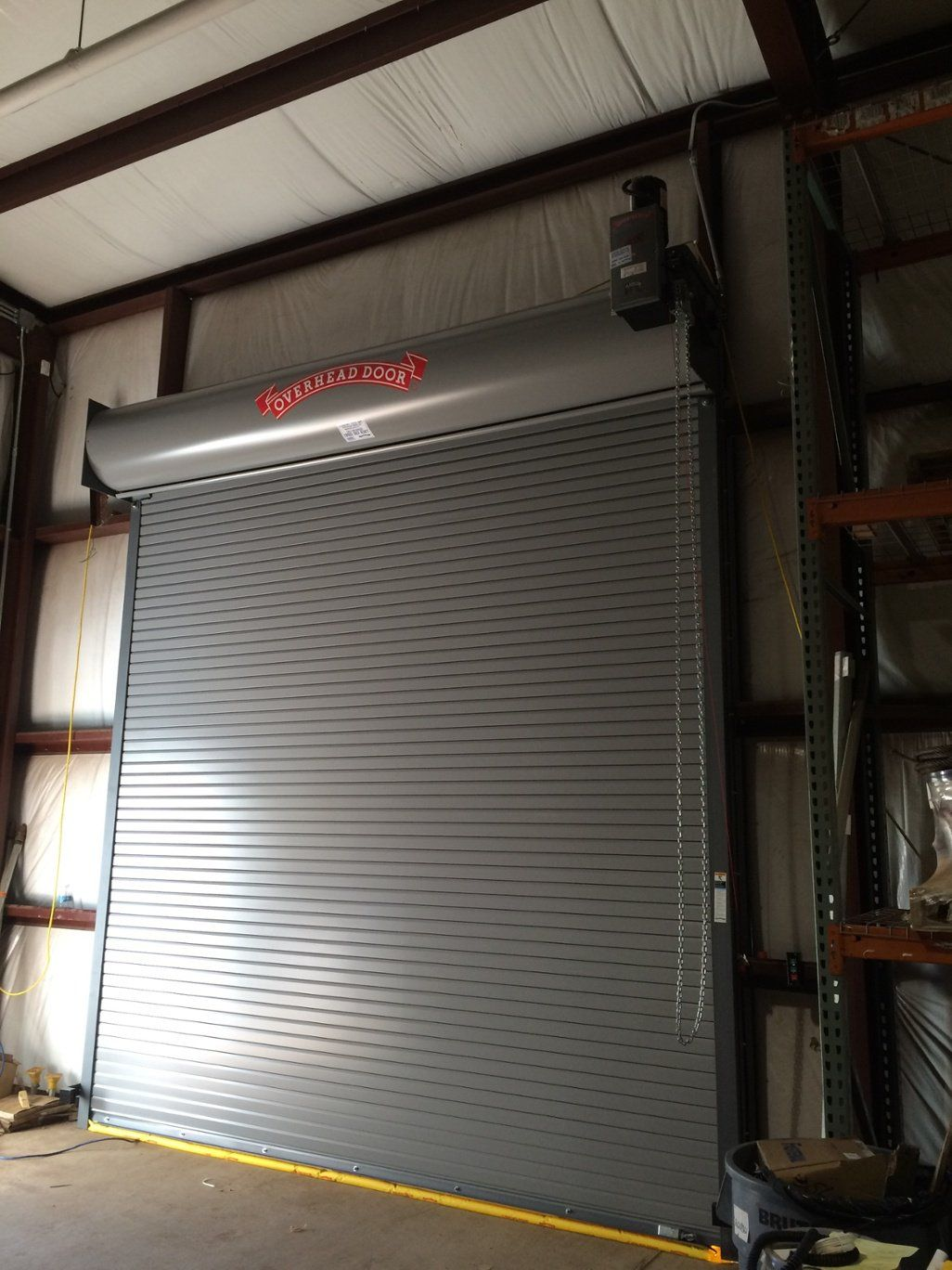 Metal Rolling Loading Dock Doors Fix Slats Nj Nyc Roll Up Doors Roll Up Garage Door Garage Door Types