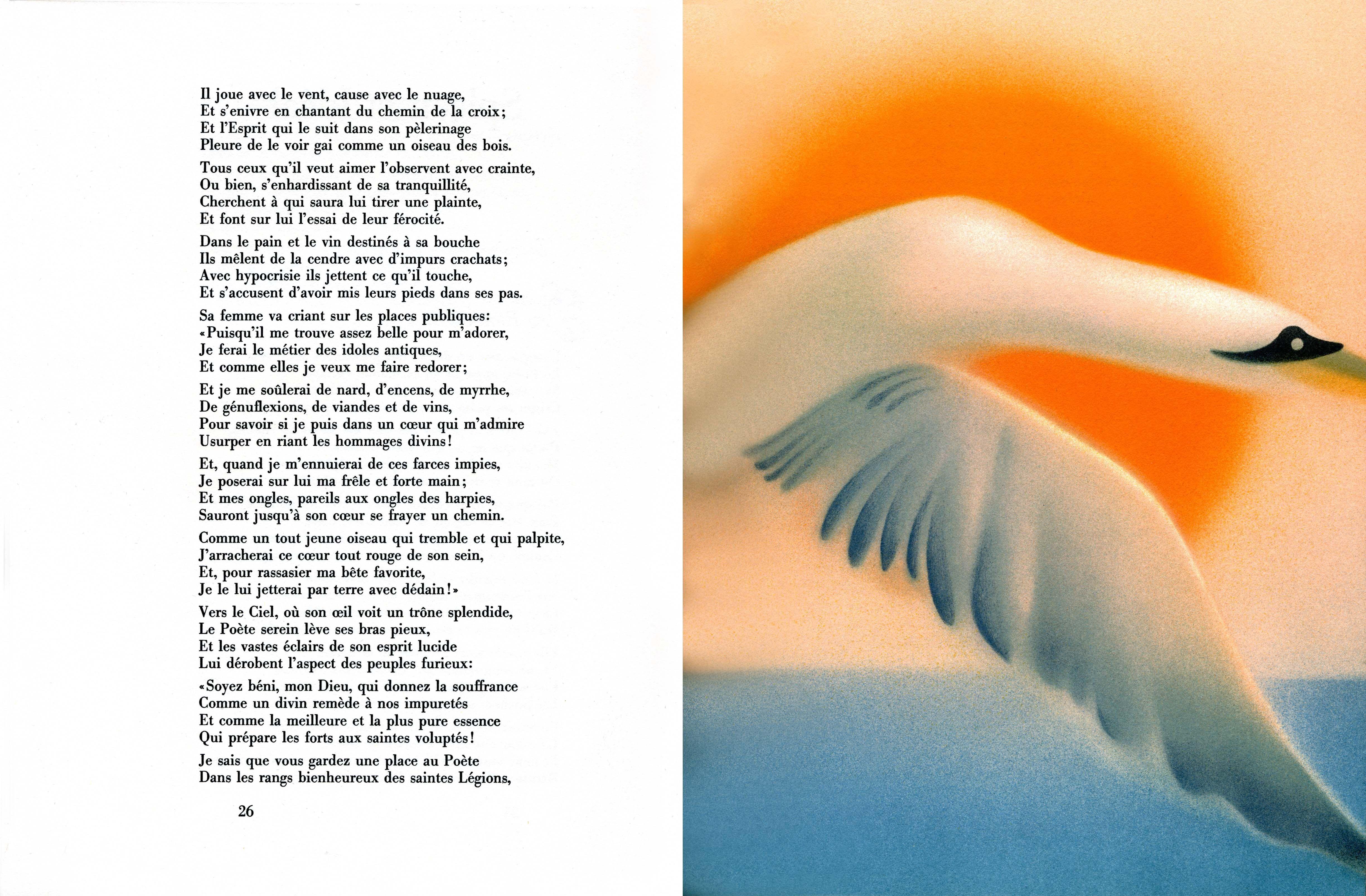 Baudelaire, Hauterives,L'Albatros