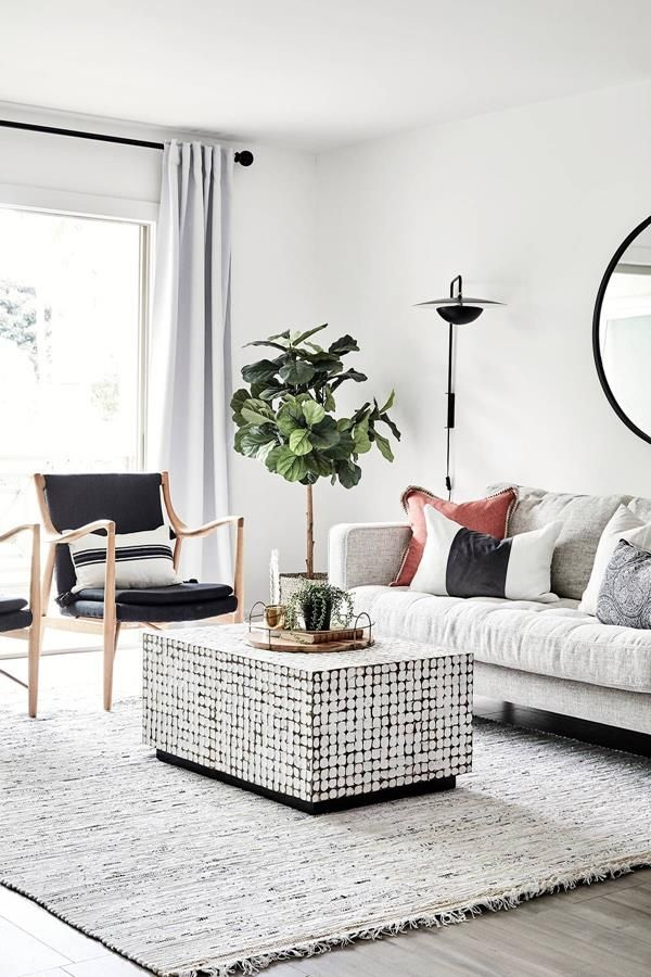 How to Arrange Furniture in a Small Living Room | Small ...