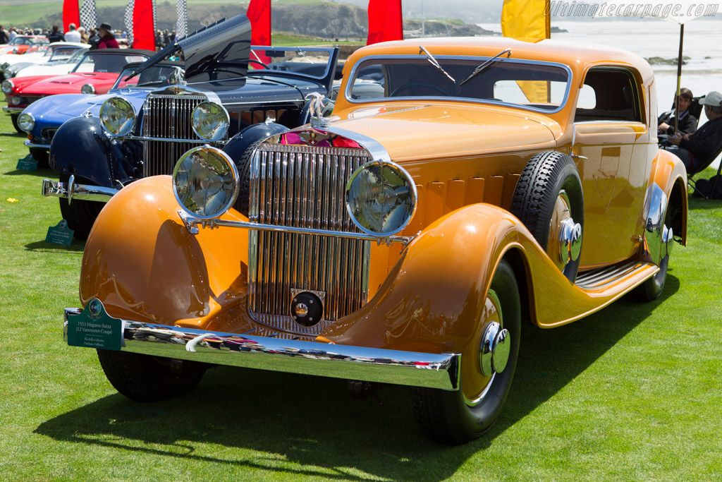 Hispano Suiza J12 Vanvooren Coupe Coupe Classic Cars Pebble Beach Concours