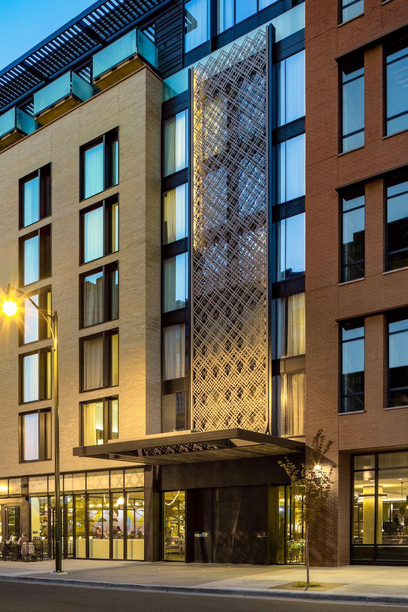 The Maven Hotel Johnson Nathan Strohe Hotel Facade Facade Architecture Hotel Architecture