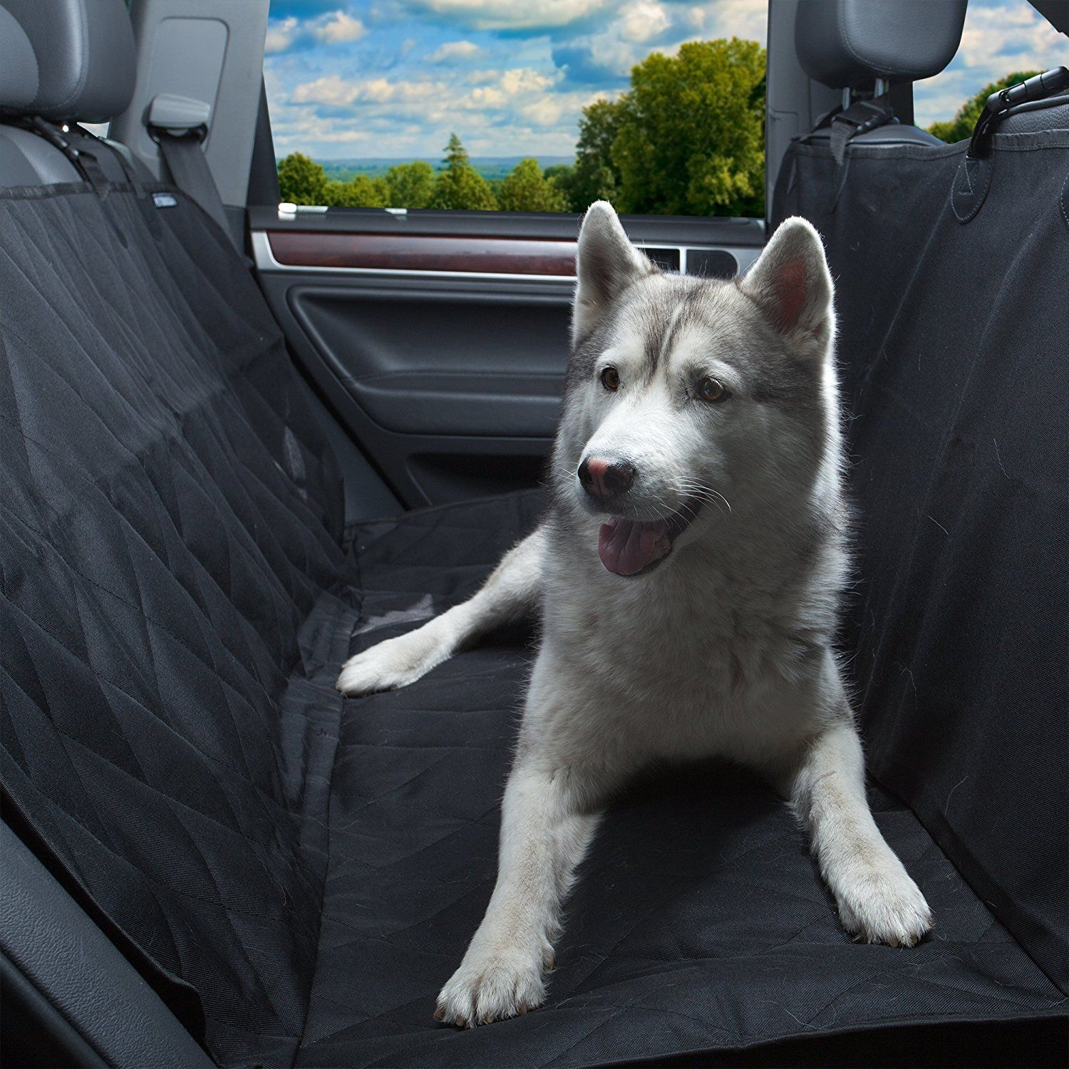 Yunanwa Pet Seat Cover Dog Hammock Waterproof Seat Protector For Cars Trucks Suv Backseat Bench Pad Anti Slip For Shed Dog Dog Hammock Pet Seat Covers Dogs