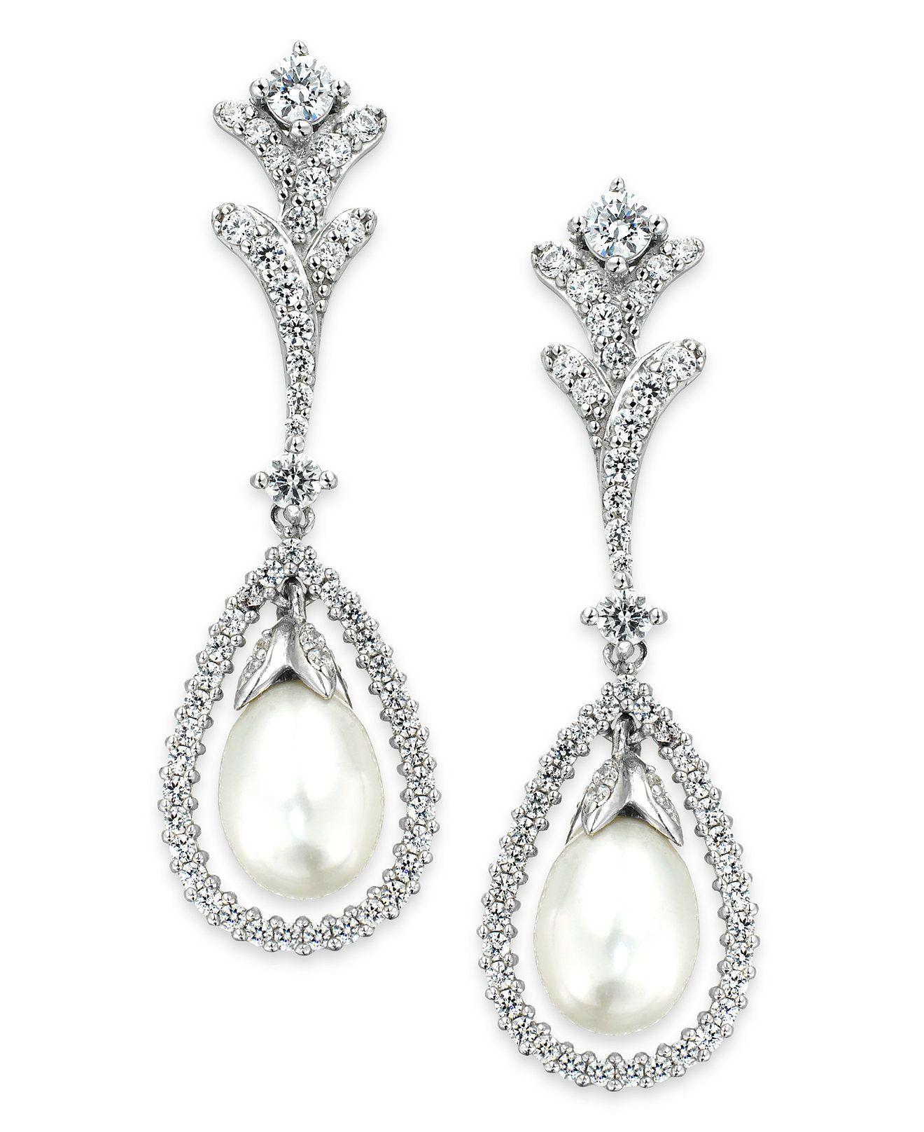 arabella bridal cultured freshwater pearl 7mm and swarovski