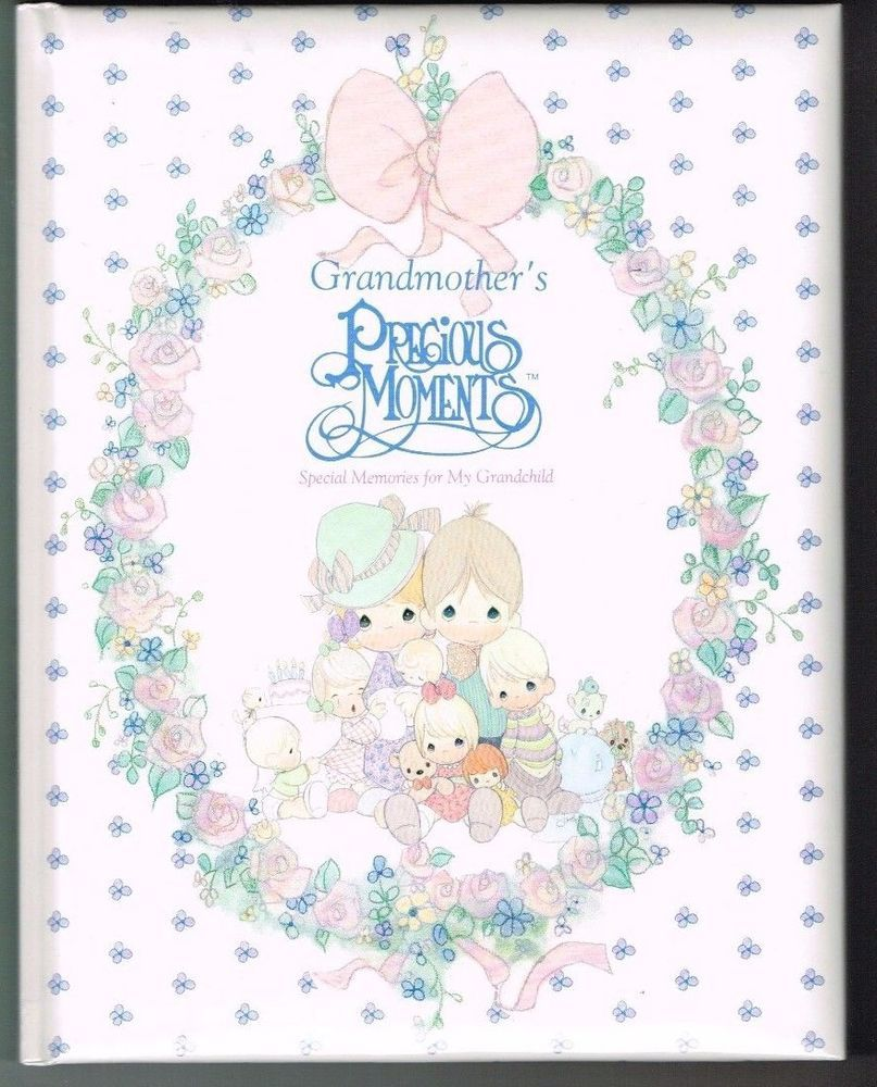 Precious Moments Special Memories For My Grandchild Grandmother S Baby Book New Preciousmoments Precious Moments Baby Book In This Moment