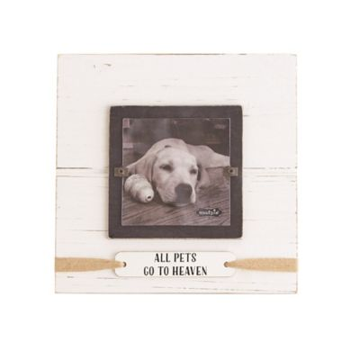 Mud Pie All Pets Go To Heaven 4 Square Picture Frame Brown Dog Frames Animal Line Drawings Muddy Paws