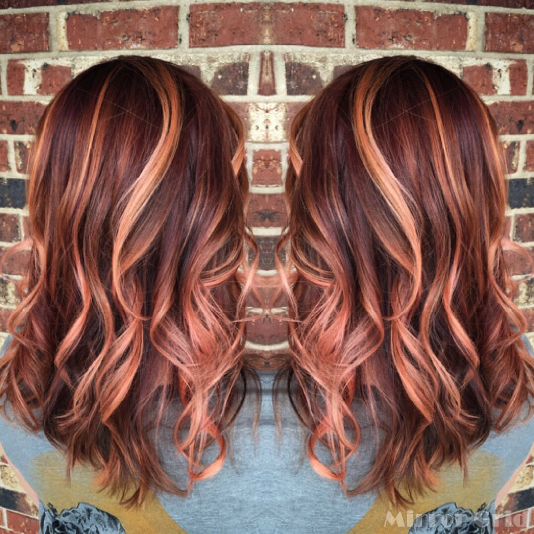 Rose Gold Hair Sherbet Colored Hair Hair Dos Pinterest Hair