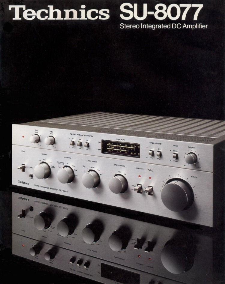Technics Vintage Electronics Hifi Hifi Audio