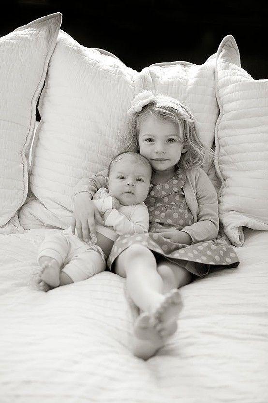 big sister - little sister newborn-photos | Home | Pinterest ...