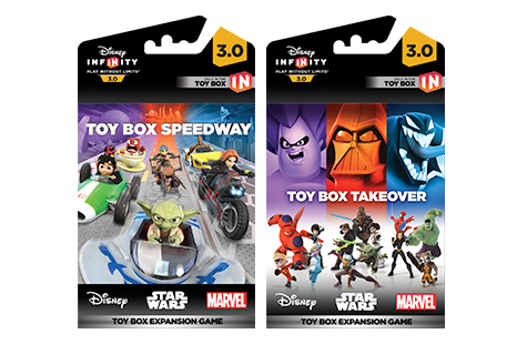 Disney Infinity 3.0 Takeover & Speedway Expansion Game