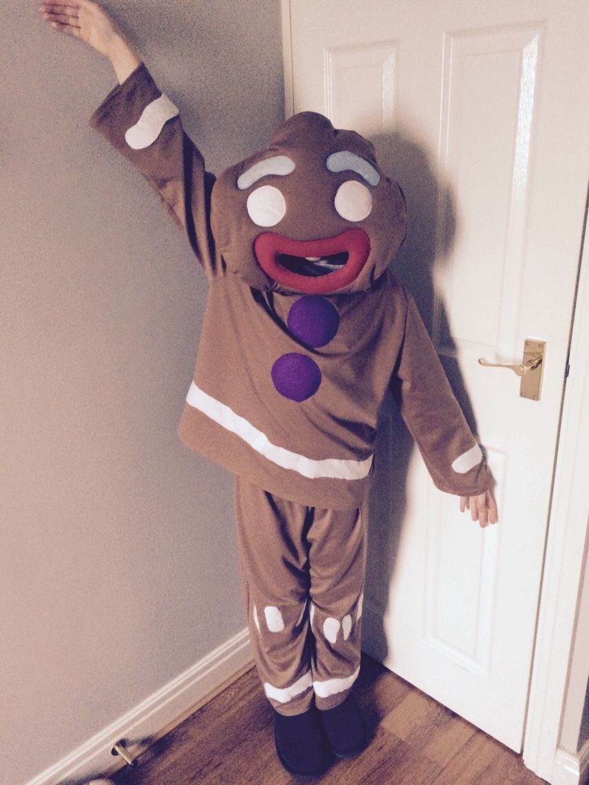 Gingerbread Man costume for a World Book Day. (With images