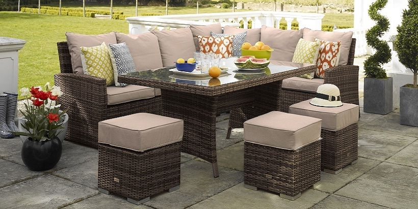 Garden Corner Sofa With Dining Table Simple Set Designs 3 1 Couches And Furniture Pinterest
