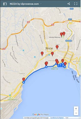 Altstadt Nizza Karte.Meine Top 10 Sehenswuerdigkeiten In Nizza Urlaub In 2019