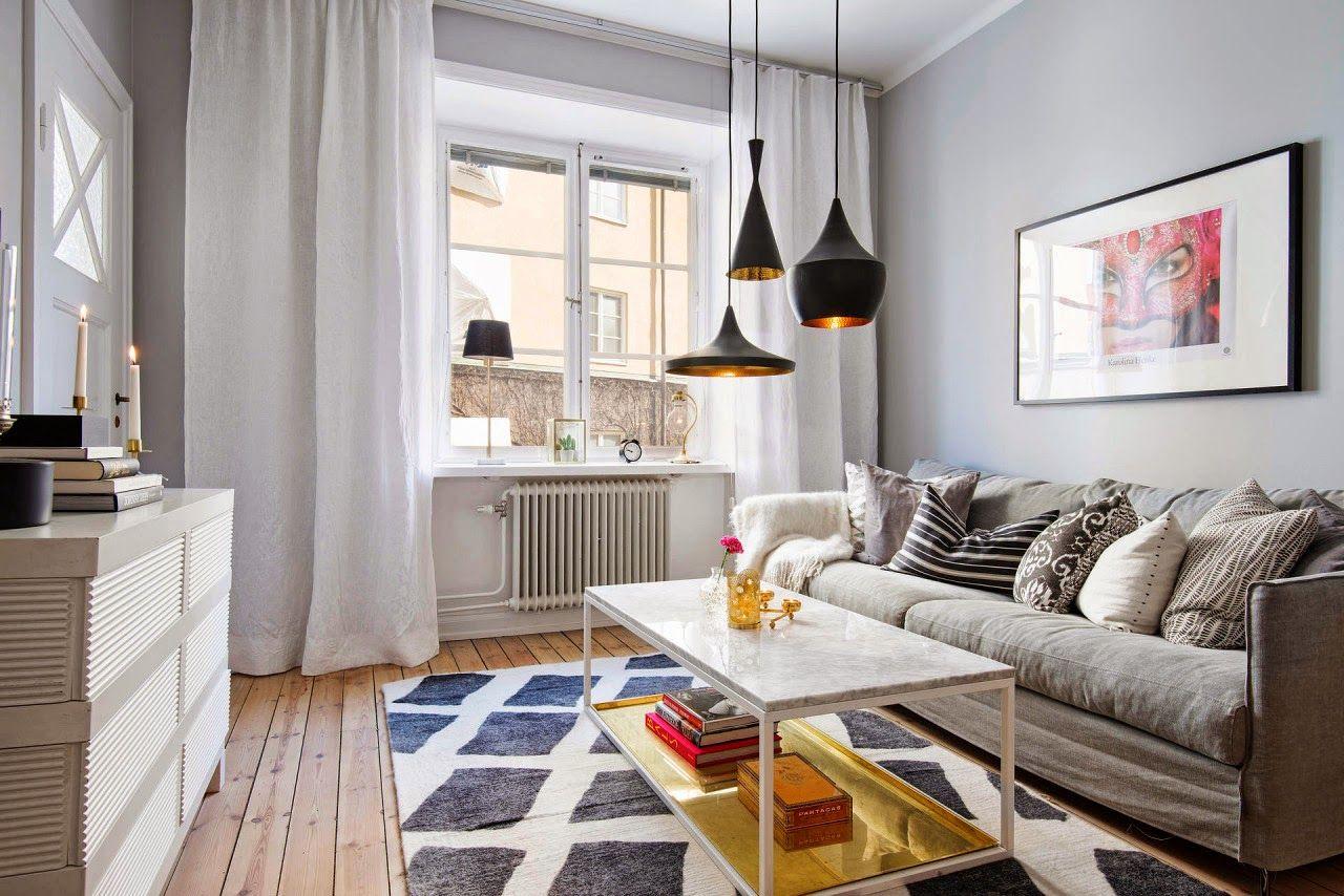 Decora O De Sala Pequena Tend Ncias 2017 Simples Barata E Moderna  -> Sala Pequena Simples E Barata