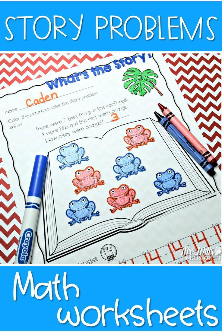 Kindergarten Math Printables UNIT 3   Kindergarten addition ...