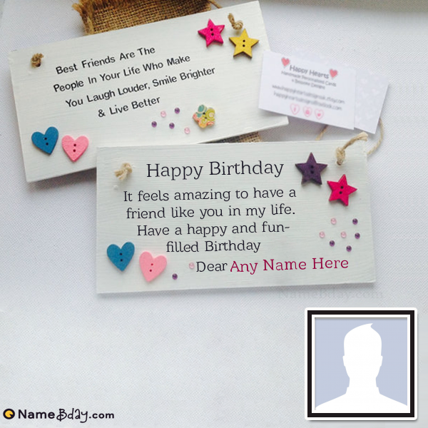 Amazing Get Special Birthday Cards For Best Friend With Name With Images Funny Birthday Cards Online Fluifree Goldxyz