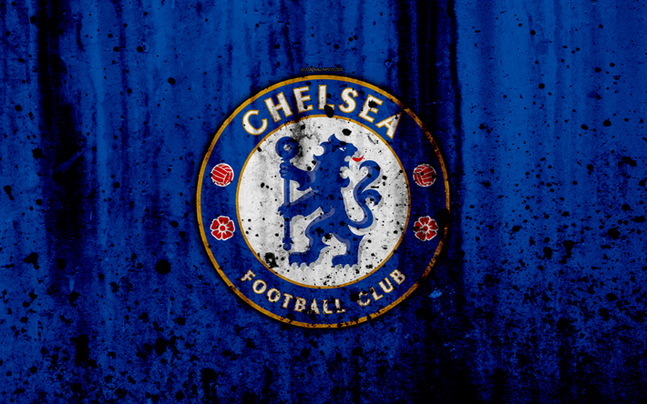 Download wallpapers FC Chelsea, 4k, Premier League, logo, England