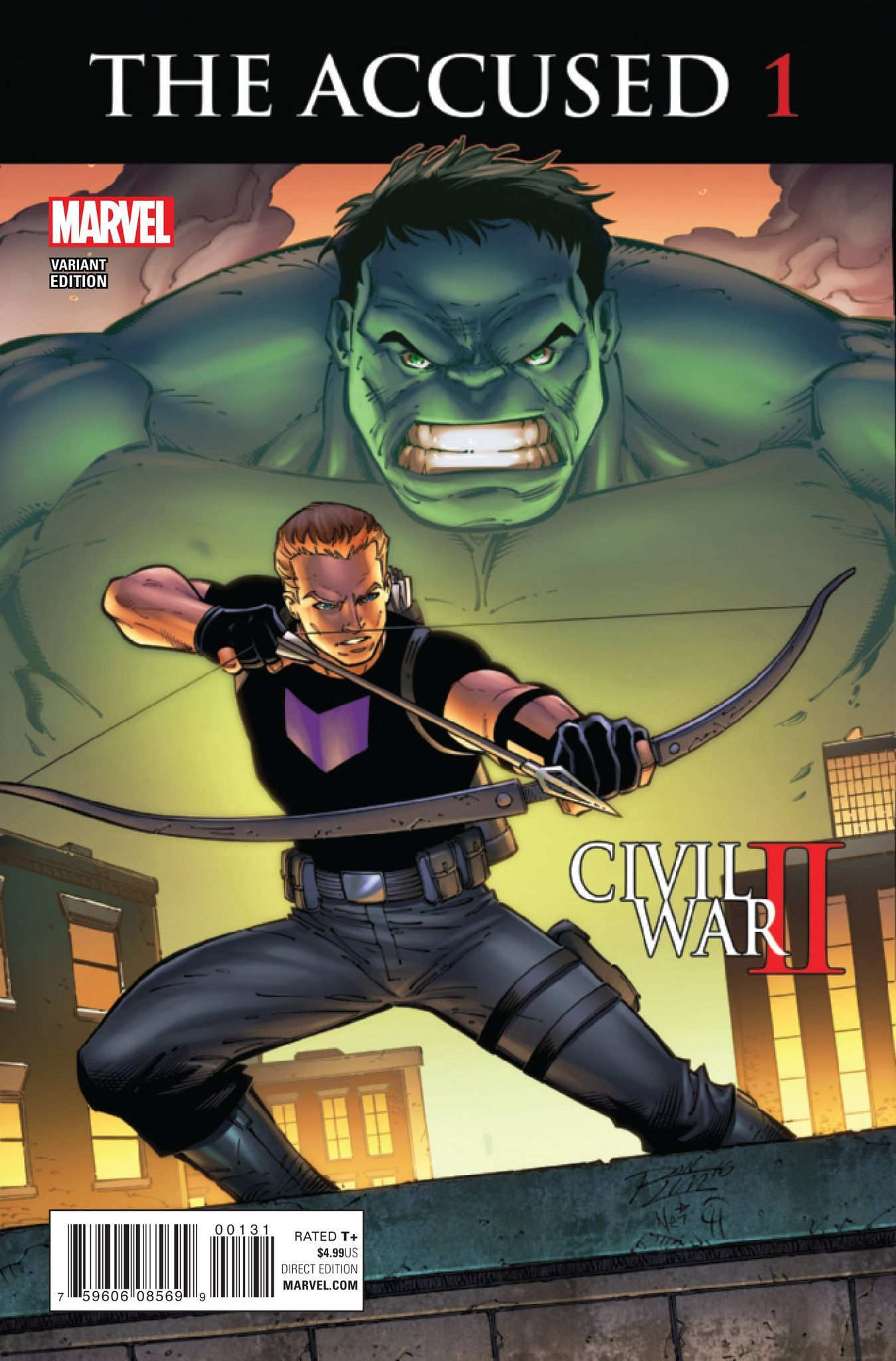 MARVEL COMICS (W) Marc Guggenheim (A) Ramon Bachs, Garry Brown (CA) Ron Lim It's the trial of the century! As a beloved Avenger falls, another takes the stand to answer for his death. As Hawkeye stand