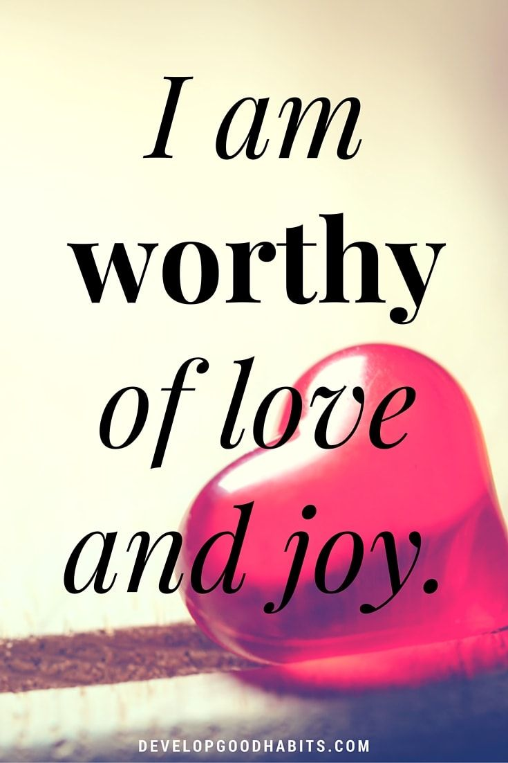 Positive Quotes About Self Love: Self Love Affirmations (Large Positive Picture Quotes For