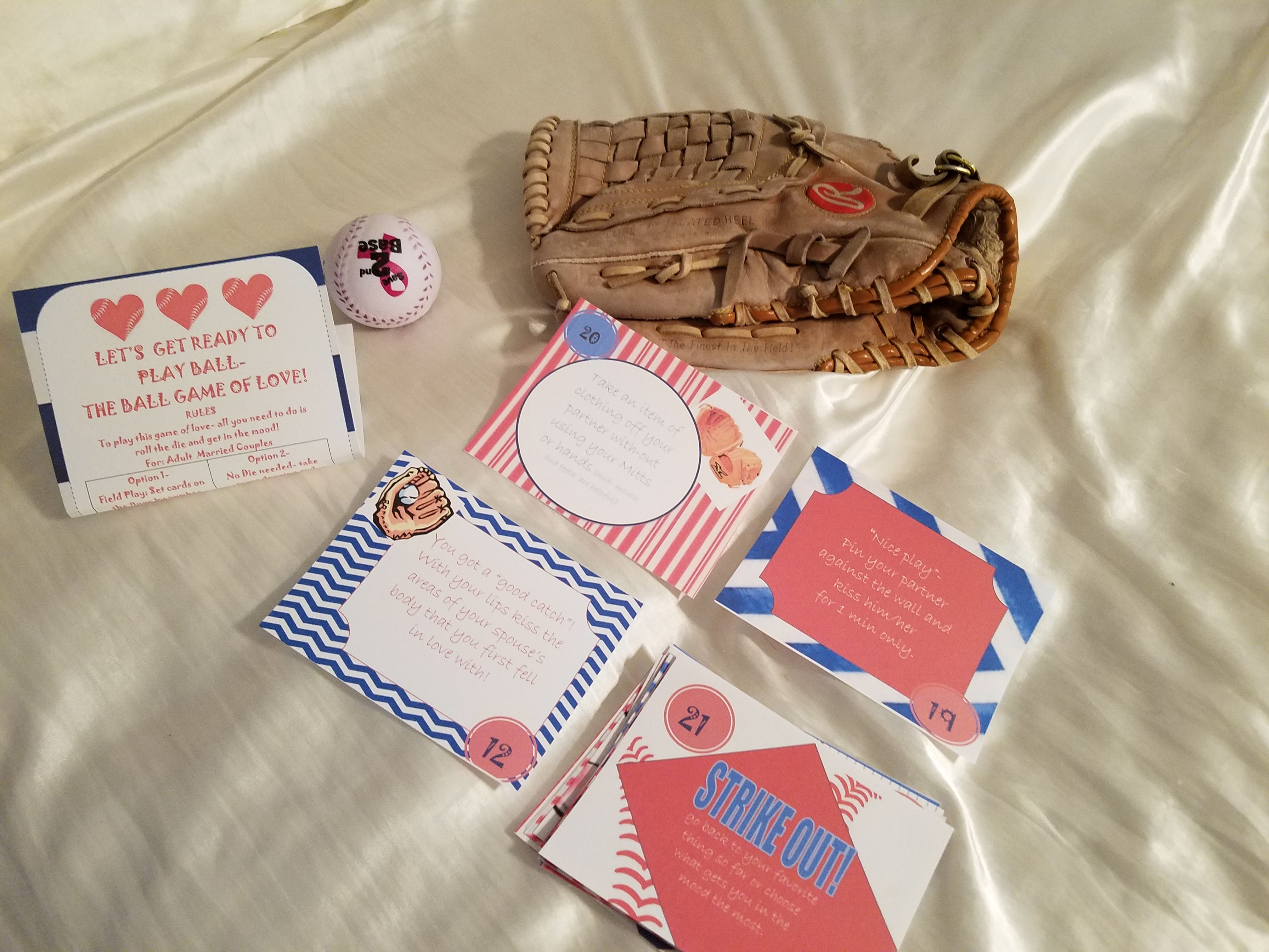 This Bedroom Baseball Game Of Love Is Seriously Out The Park It