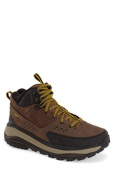 Starcy High Top Waterproof Men Hiking Boots Lace Up Outdoor Casual Shoes Heavy Duty