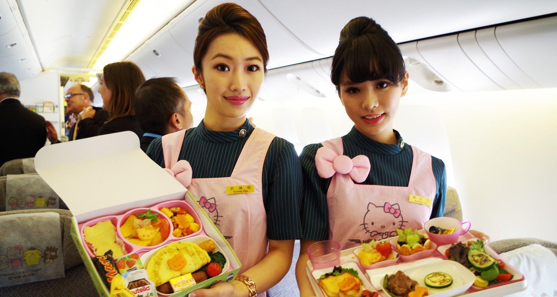 Review The EVA Air Hello Kitty Experience Economy Class