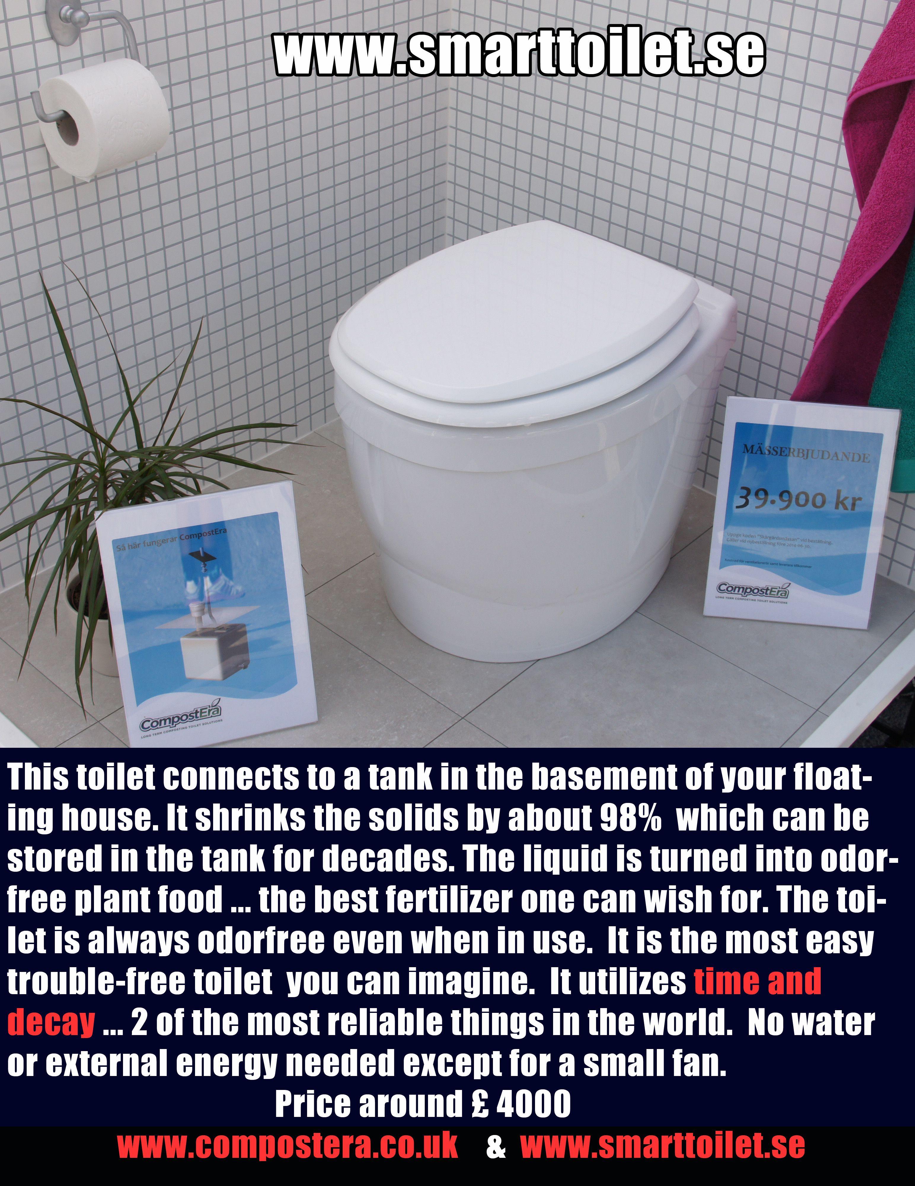 sewerless toilet