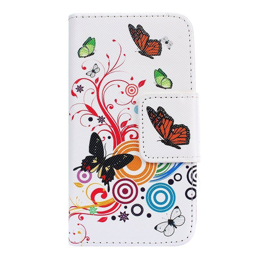 pretty nice 4ae3f cd3d8 Amazon.com: Flip Leather Case for Samsung Galaxy J2,Cartoon PU ...