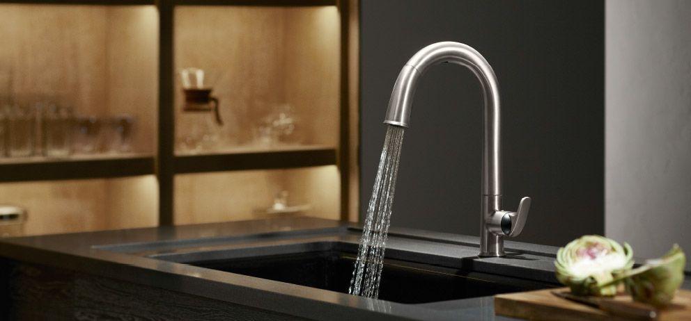 Kohler Kitchen Faucets Sensate Touchless Kitchen Remodel Pinterest Kitchen Sink