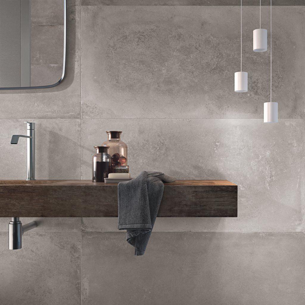 Bildergebnis für badezimmer fliesen betonoptik