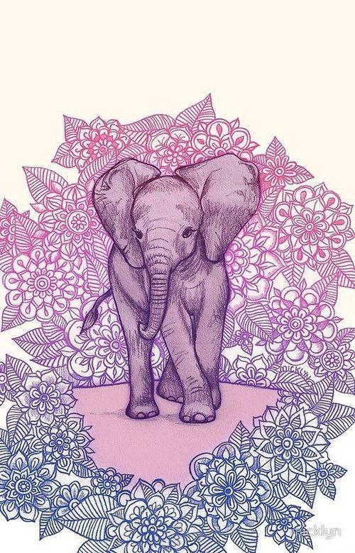 Imagen De Elephant And Wallpaper Elephant Wallpaper Mandala Wallpaper Wallpaper
