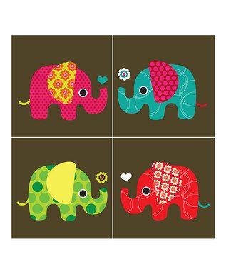 Cute elephant prints