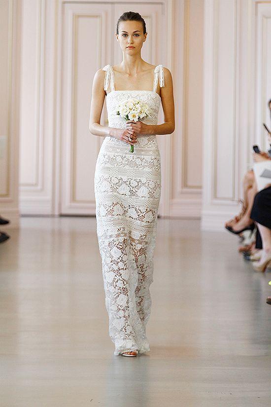 Fashion Friday: Oscar de la Renta Bridal Spring 2016 | Hong Kong Wedding Blog