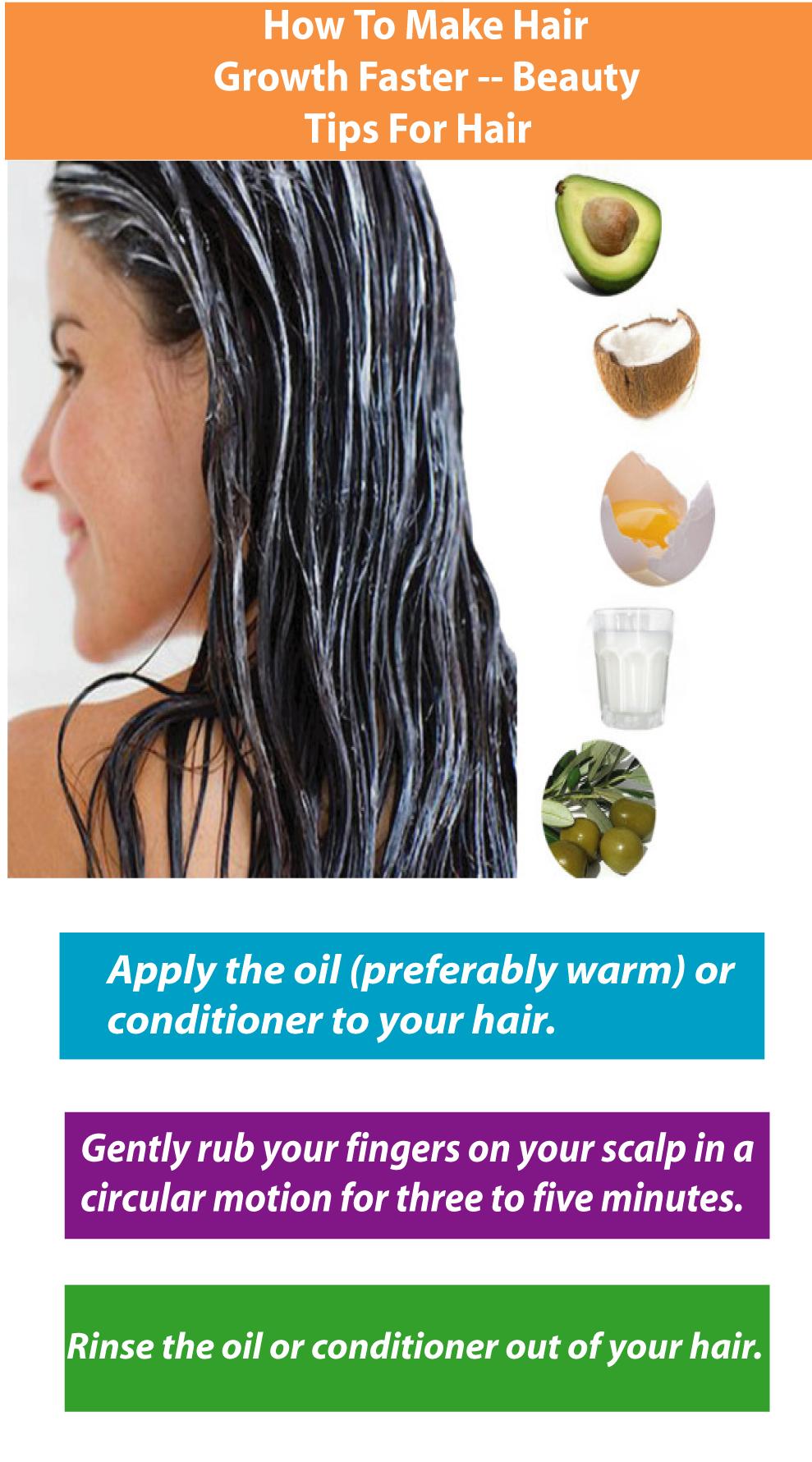 How to make hair lush Several ways