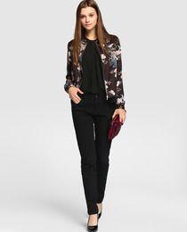 2cb2e1634 Cazadora bomber de mujer Fórmula Joven con estampado floral | Moda ...