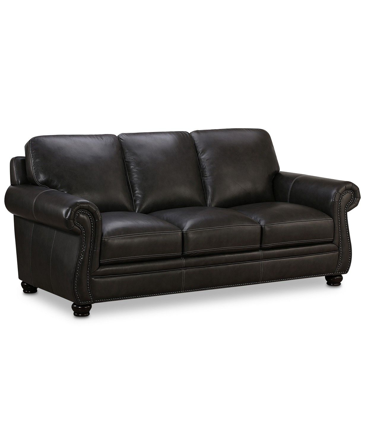 Smart Ecksofa Anna Roselake 87 Leather Sofa Created For Macy S New Living Room