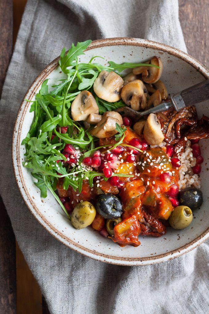 Rainbow Buddha Bowl – gesund und köstlich – kochkarussell.com  – Healthy~