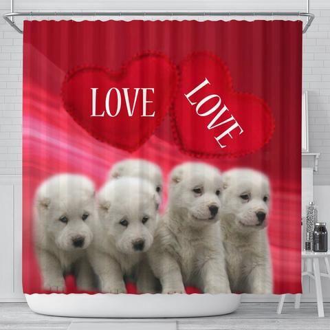 Central Asian Shepherd Dog Print Shower Curtain Free Shipping