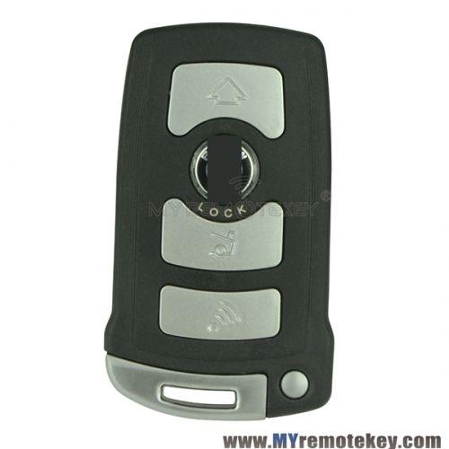 Smart Key For Bmw 7 Series Lx8766s 4 Button Smart Key Bmw Key Key